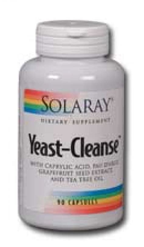 Yeast Detox by Solaray Yeast Cleanse 90 Caps