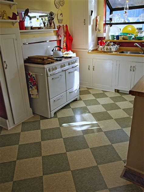 retro kitchen flooring inspirational vintage kitchen tile floor a photo on