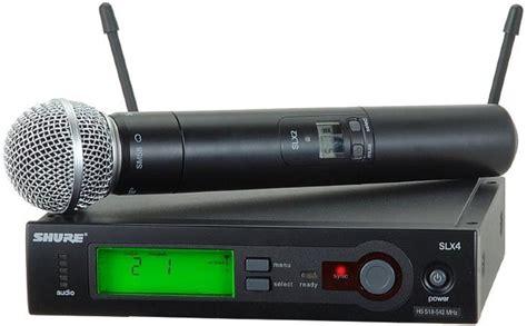 Mic Wireless Shure Blx 100 Multi Channel Handheld Legenda Artis the best wireless microphone system guide handheld