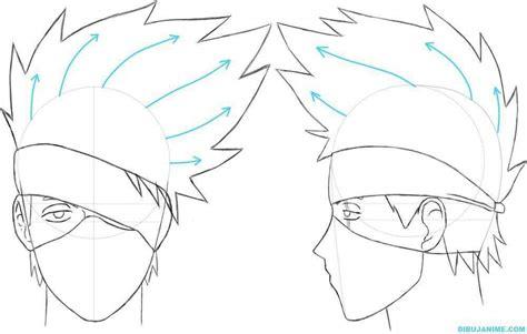imagenes de kakashi a lapiz dibujo itachi uchiha kakashi hatake paso a paso dibujo