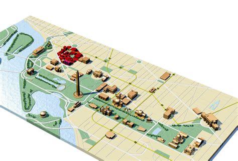 layout of dc mall large detailed travel map of washington d c washington d