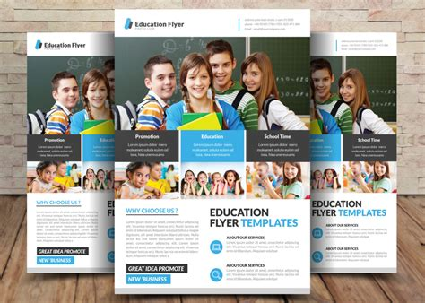 education psd templates free school education flyer psd templates