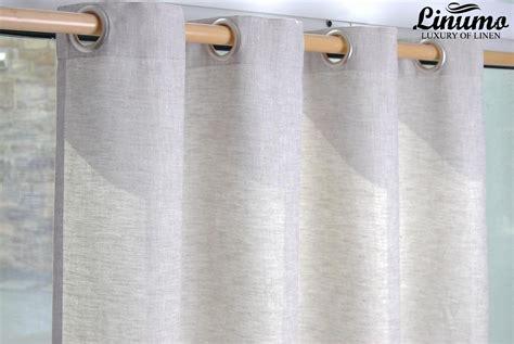 leinen vorhange fertiger leinen vorhang beige verschiedene gr 246 223 en m06c112