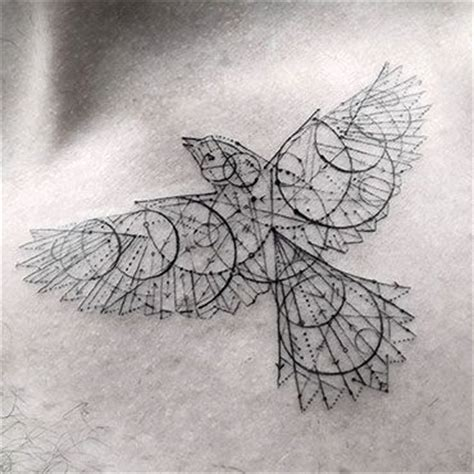 elegant fine line geometric tattoos by dr woo colossal beautiful spitze and einzigartig on pinterest