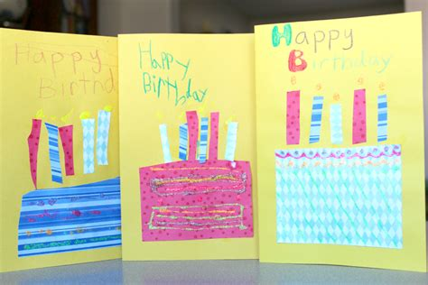 Childrens Handmade Birthday Cards - handmade birthday cards for true aim