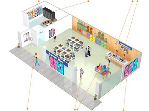 3d network diagram 3d retail system diagram