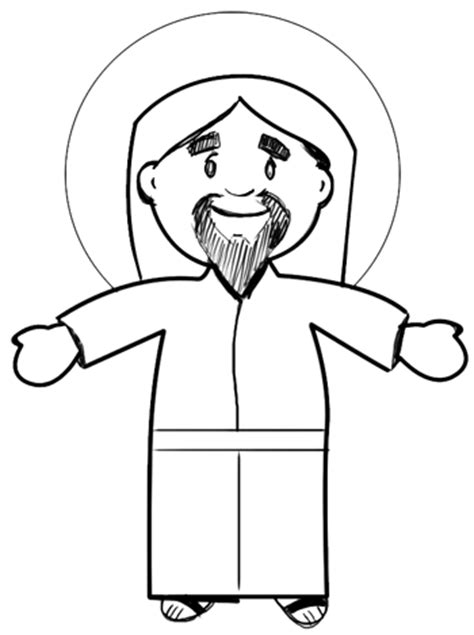 Easy To Draw Jesus by How To Draw Jesus For Easter Step By Step Drawing Lessons How To Draw Step By