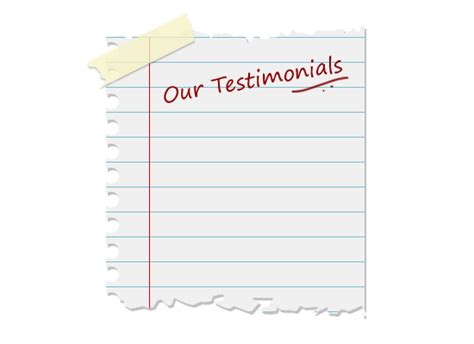 testimonial template free images