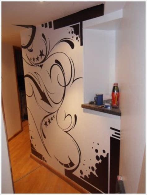 wallpaper dinding grafiti desain interior rumah unik dengan graffiti wallpaper