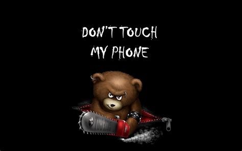dont touch  phone mobile funny background image hd