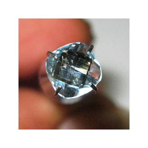 Batu Permata Blue Sapphire Cincin Silver 925 Lapis Emas Putih batu permata topaz sky blue cushion cut 1 05 carat