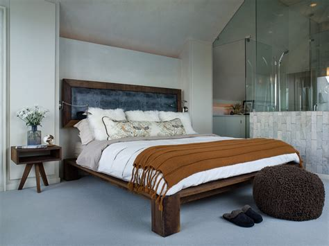 good  wall mounted headboards  bedroom eclectic