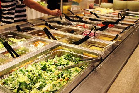 Choose Wisely Soup And Salad Bar At Shrine Restaurant Salad Buffet Restaurants