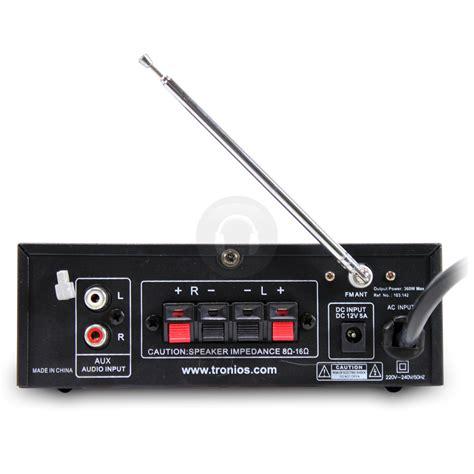 Skytronic Av 120 Stereo Karaoke Versterker Usb Mp3 Speler skytronic av 360 mp3 usb sd fm karaoke lifier remote