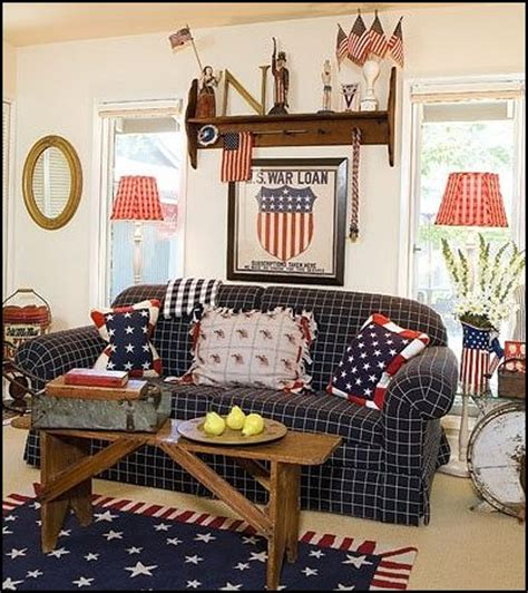 patriotic decorations for home decorating theme bedrooms maries manor primitive