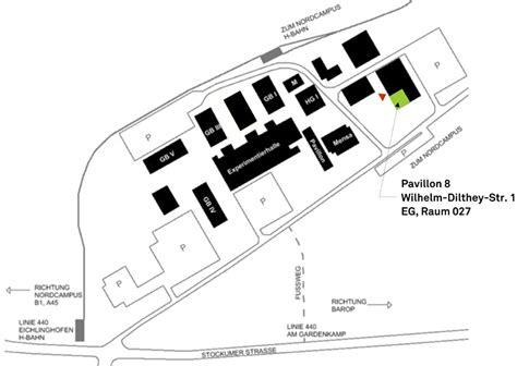 tu dortmund pavillon 8 anreise energieeffizientes bauen architektur und