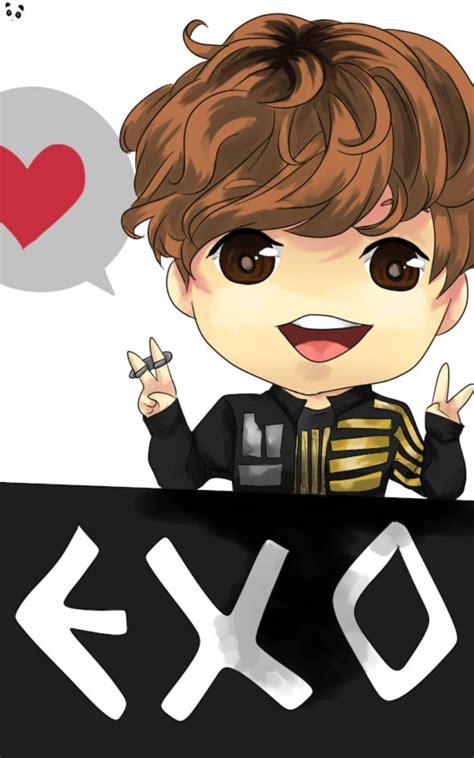 exo chanyeol anime www pixshark images galleries