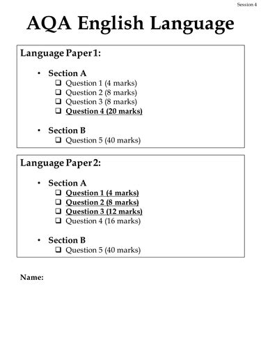 aqa english language practice 129218633x english literature language ks3 4 5 lessons resources teaching resources tes