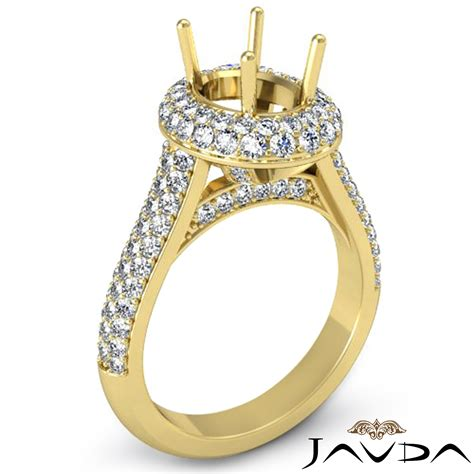 best of yellow gold engagement ring settings