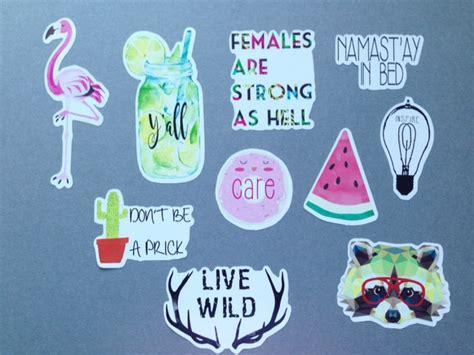 printable hipster stickers hipster sticker vinyl stickers sticker pack cute stickers