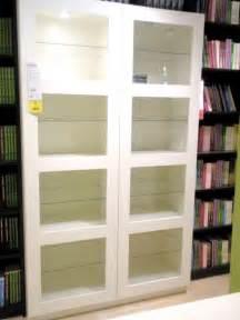 White Bookshelves With Glass Doors I Books Therefore I Bookshelves Going Home To