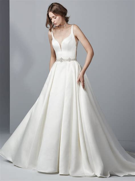 Satin Wedding Dresses by The On Satin Wedding Dresses Luxe Shimmery And