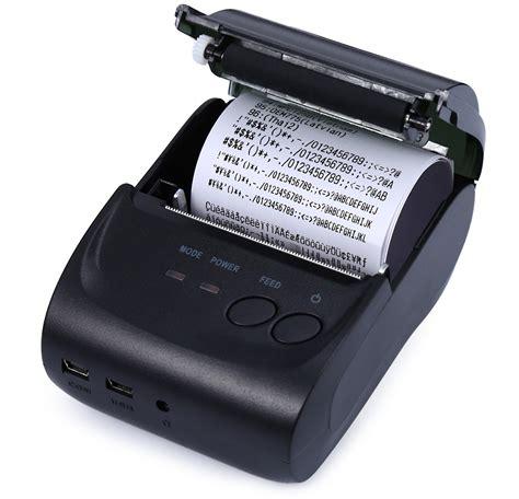 Mini Portable Bluetooth Thermal Receipt Printer Zj 58041217 Limited dealsmachine zj 5802ld mini bluetooth 2 0 3 0 4 0 58mm