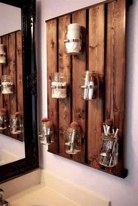 oggetti per arredare il bagno pallet 10 idee creative fai da te per la casa