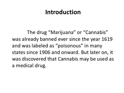 Thesis For Legalization by Thesis Statement For Legalizing Marijuana 28 Images