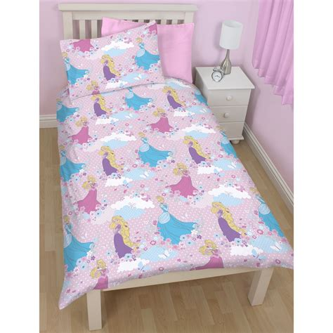 Disney Princess Quilt Cover by Disney Princess Dreams Duvet Cover Set New Reversible Ebay
