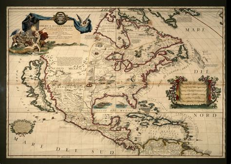 american explorers map america setentrionale map of the america picture