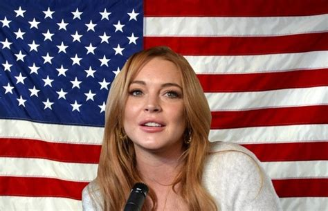 Lindsay Lohan Encouraged To Run For Government by Magazine Search Ronald