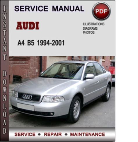how to download repair manuals 1997 audi a4 user handbook audi a4 b5 1994 2001 factory service repair manual pdf download m