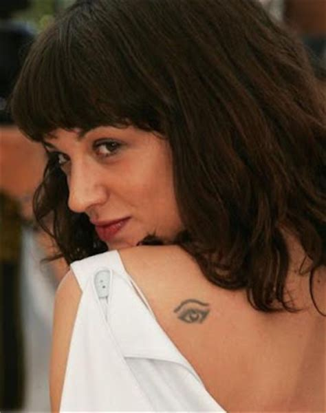 asia argento tattoos chest tattoos for asia argento tattoos