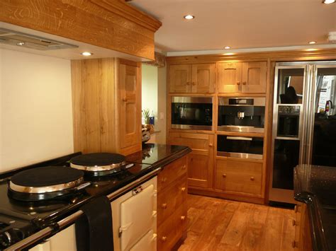 traditional oak kitchen cabinets images