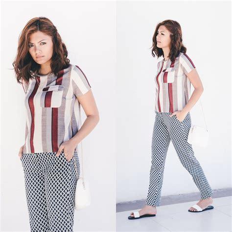 Bershka Crossbody ronah h m printed trousers zara top cotton on sliders