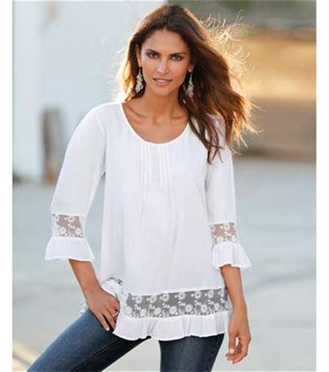 puntilla blusa de mangas de viro las 25 mejores ideas sobre blusa blanca mujer en pinterest