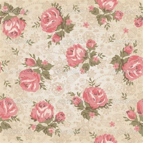vintage style floral background with pink blooms royalty vintage flowers wallpapers wallpaper cave