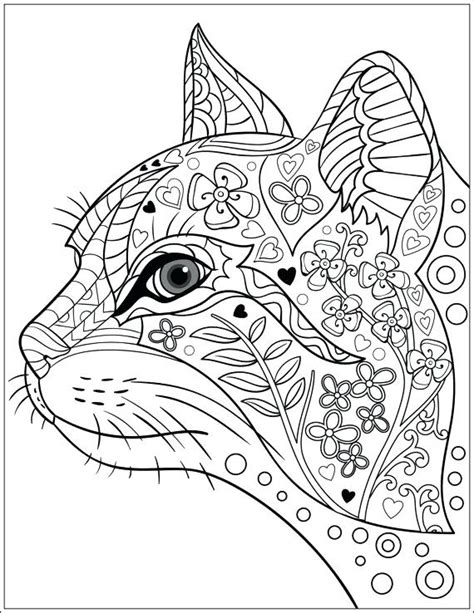 Cat Coloring Pages For Adults by Mandala Coloring Pages Cat Drudge Report Co