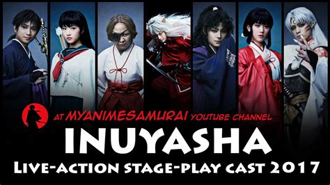 si鑒e lib駻ation inuyasha live stage play cast