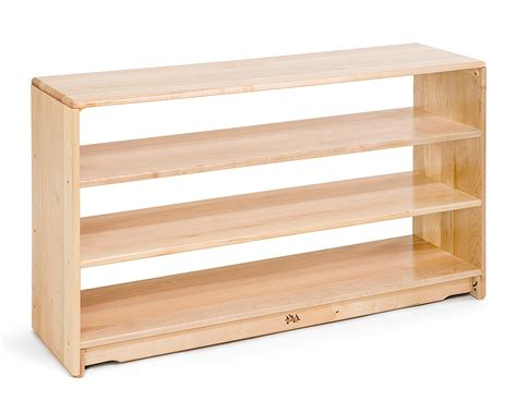 open shelves communityplaythings com f444 4 x 28 open back shelf two