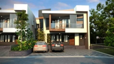 row house plan and elevation remarkable 3d walkthrough elevation designing of many row houses with 3d elevation