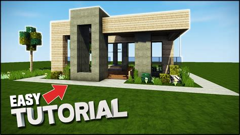 how to build the best house in minecraft minecraft house tutorial epic modern house best house tutorial 2017 youtube