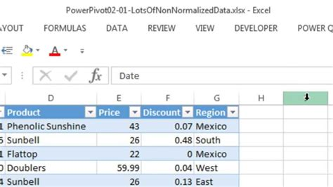 normalization in database with exle tables how to normalize data in excel howsto co
