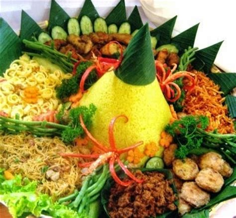 resep membuat nasi kuning dan lauk pauknya resep cara membuat nasi kuning guri komplit enak spesial