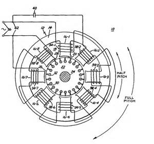 half pitch capacitor induction motor patent 0067114