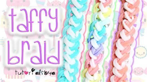 doodle draw rainbow loom new taffy braid rainbow loom bracelet tutorial how to