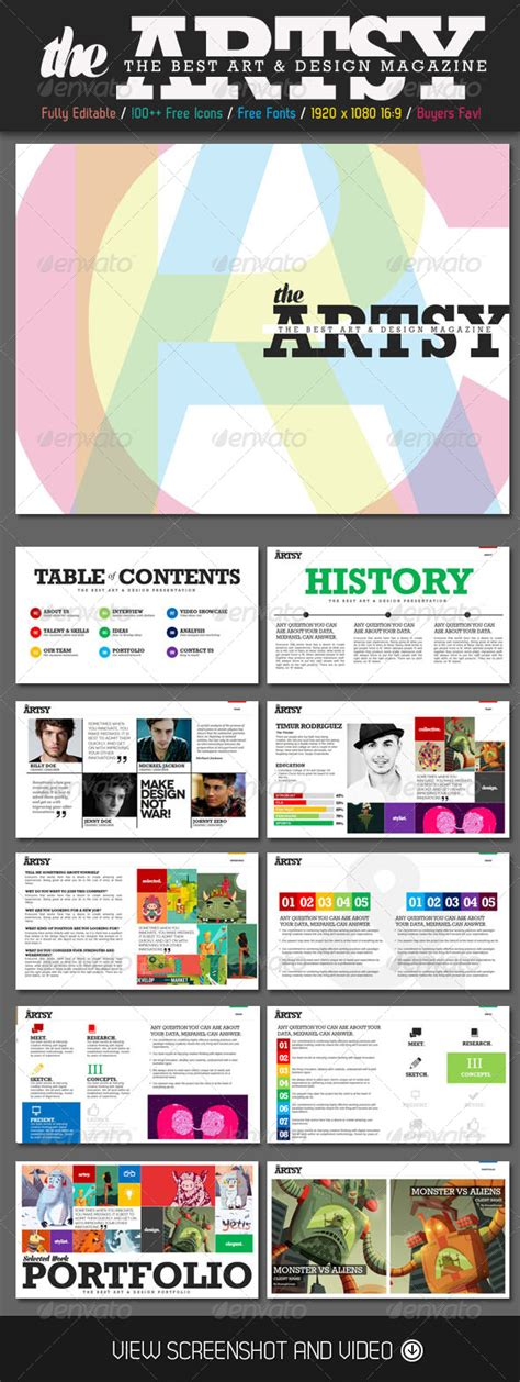 Item Not Available Graphicriver Magazine Powerpoint Template