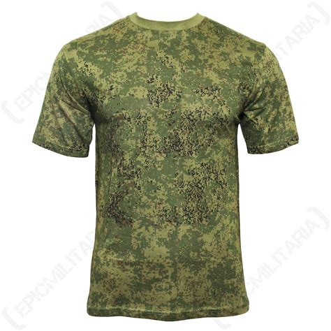 army pattern t shirt digital russian woodland camo army t shirt all sizes