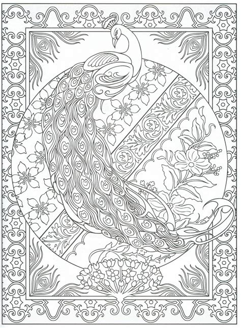 peacock coloring pages for adults peacock coloring page for adults 2 31 color pages
